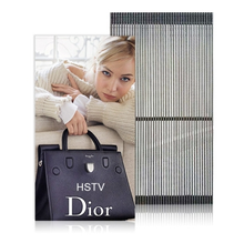P12.5-12.5 Indoor and Outdoor Transparent Strip LED Display Screen, Flexible LED Mesh Screen, Transparent LED