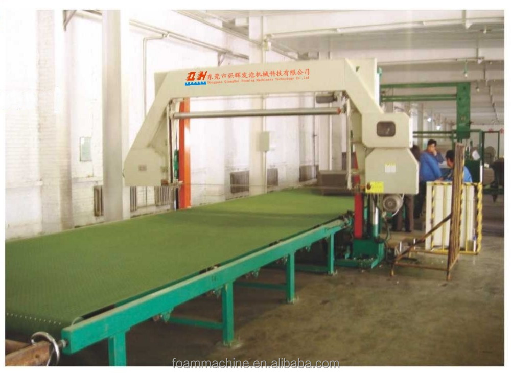 Horizontal automatic sponge cutting disc machine
