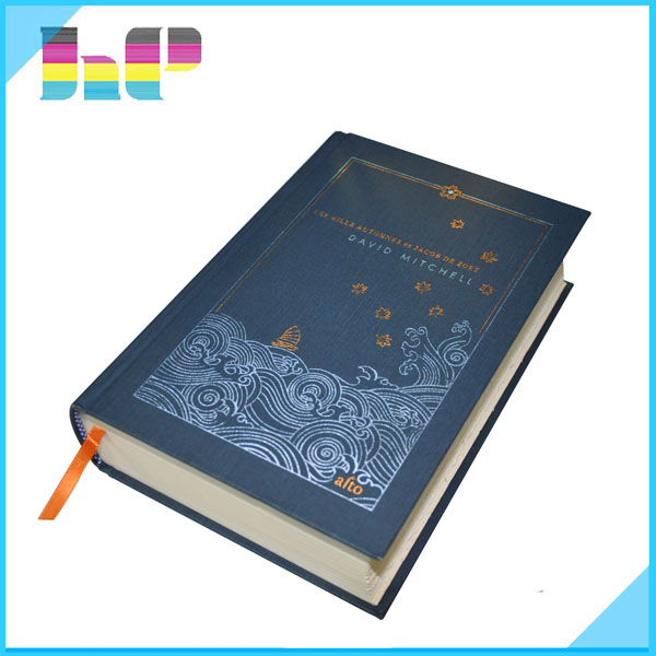 Fabric Hardcover Book : Fabric hardcover book printing service with foil stamping