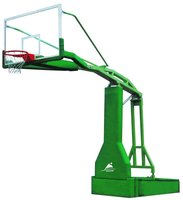 Manual hydraulic pressure basketball frame