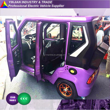 New Electric Tricycle 4 doors 4 seats AIR CONDITIONER,3 wheeler Electric Trike adult