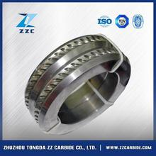 China factory yg15 tungsten carbide composite roll for hot rolling mill