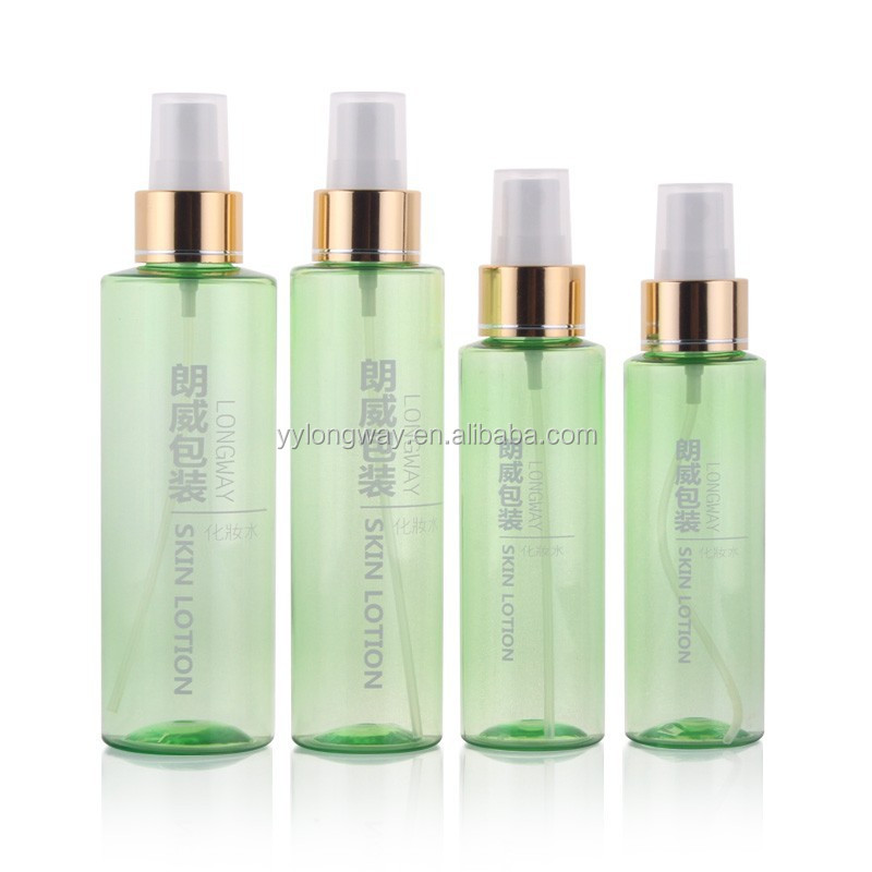 100ml cosmetic flat perfume <strong>bottle</strong>, PET empty fine mist sprayer pump <strong>bottle</strong>