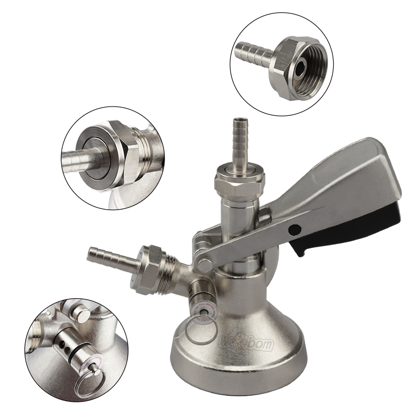Draft Beer Keg Coupler Tap System Connectors Beer Brewing High Quality Beer Dispenser A G  S  D Type Couplers