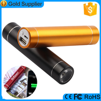 flashlight 2600mah portable charger power bank for iphone