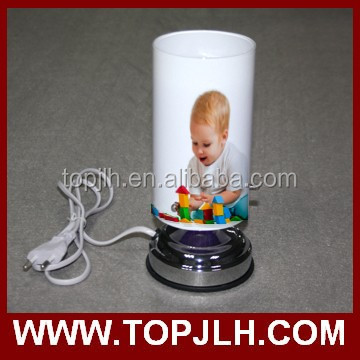 Promotional sublimation custom printed energy save lamp floor lamp