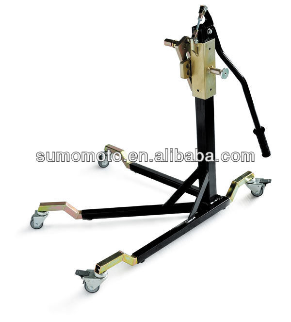 Paddock Side Lift frame stand, move whole bike