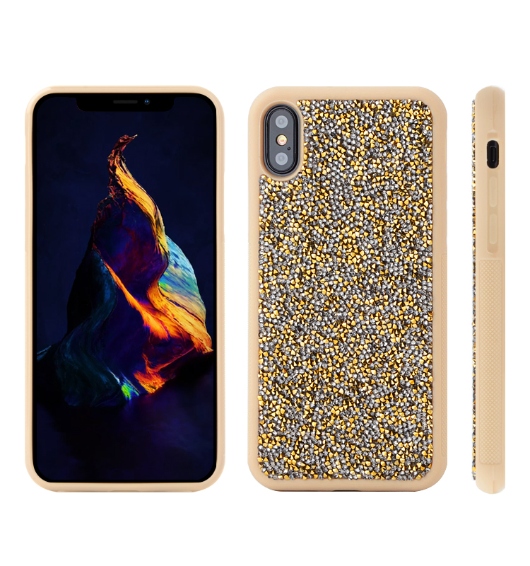 Hot selling products 2017 in usa alibaba cell phone accessories smartphone TPU diamond case for iphone x