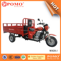 2016 China Made Popular Strong Water Cooled Gasoline Cargo 200CC Three Wheel Motorcycle