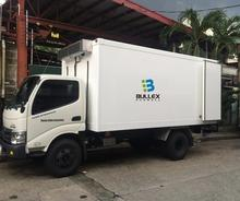 2018 Bullex GRP truck box refrigerated truck body