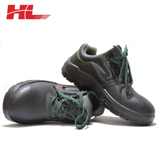 CE S1 Standard Manufacturer Anti Vibration Leather Safety Shoe