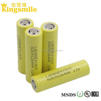 Wholesale LG HE4 2500mah 20A 18650 flat top rechargeable Lithium Ion Battery