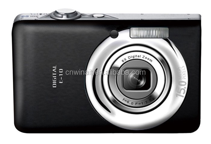 camera slr china cheap hot sale camera digital 12MP with Rechargeable lithium battery DC-E10