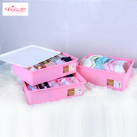Good Quality Colorful Plastic Underwear Storage