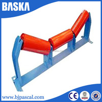 Carbon Steel Q235 Equal steel tube conveyor belt idler roller