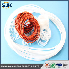 Elasticity and high quality seal clear silicone rubber o ring