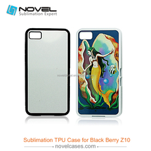 Sublimation TPU Cell Phone Cover For Blackberry Z10