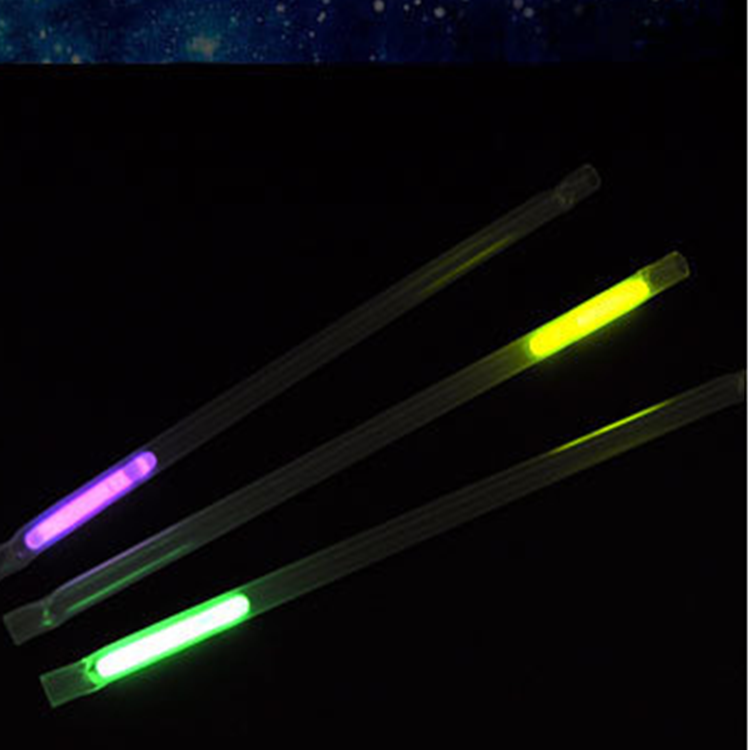 7.5 x 200 Events & Party Supply ECO PP Glow in the Dark Glow Straw (EN71, ASTM F963)