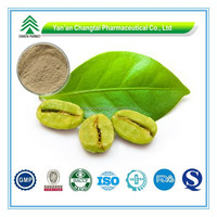 Hot Sale GMP Certificate 100% Pure Natural free sample green coffee bean extract powder