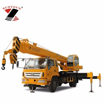 Mobile Crane 16 Ton Mini Crane Machine Truck With Crane For Sale