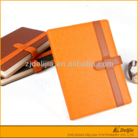New design cheap plain handmade leather notebook