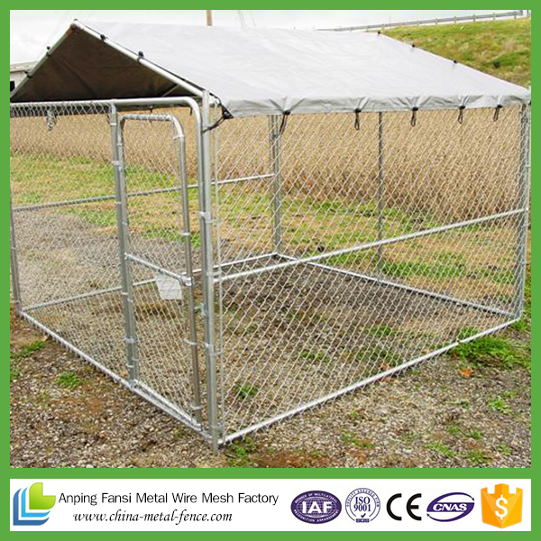 Galvanized Pet Dog Cage Stainless Kennel
