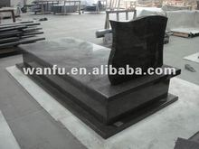 New style black granite tombstone price
