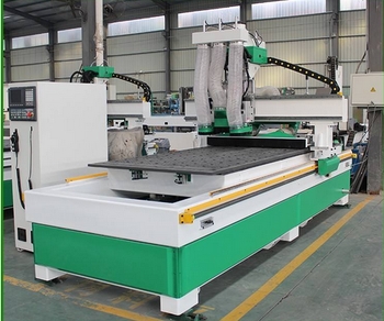 PMSK M6 Double spinde and drill cnc router machine center