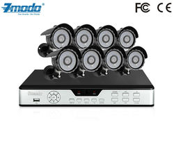 Zmodo Sony CCD IR Outdoor Camera DVR 8 Channel Security System