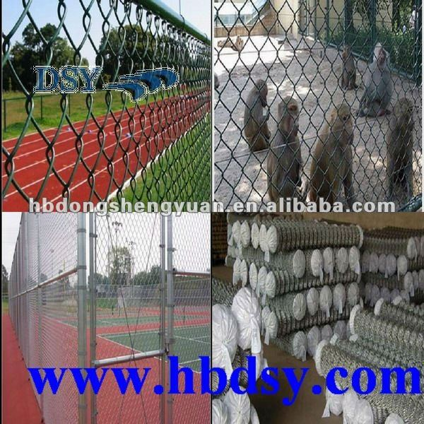 pvc coating chain link fence mesh