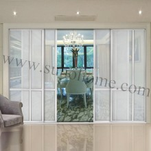 frosted glass sliding door wardrobe / sliding door cabinet