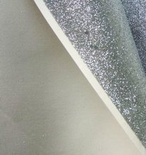 Hot selling grade 3 chunky glitter wallpaper fabric for wall covering China supply