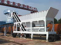 YHZS35 Small manufacturing Mobile Concrete Batching Plant price for sale
