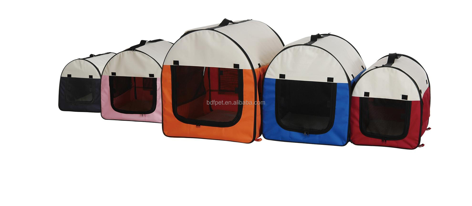 Eco-friendly Travel pet carrier dog bag Ventilated outdoor pet waterproof carrier