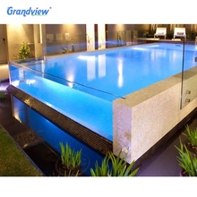 Outdoor Transparent clear acrylic swimming plexiglass for pools windows