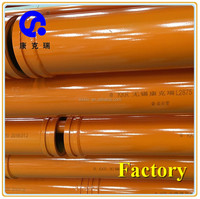 Chinese Schwing dn 150 wear resisting twin wall concrete pump spare parts / accessories delivery pipe / straight pipe / tube