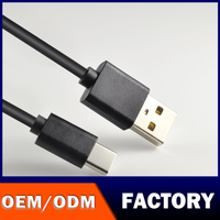 Factory OEM ODM LOGO High quality supplier colorful noodle flat sync data usb type c usb cable