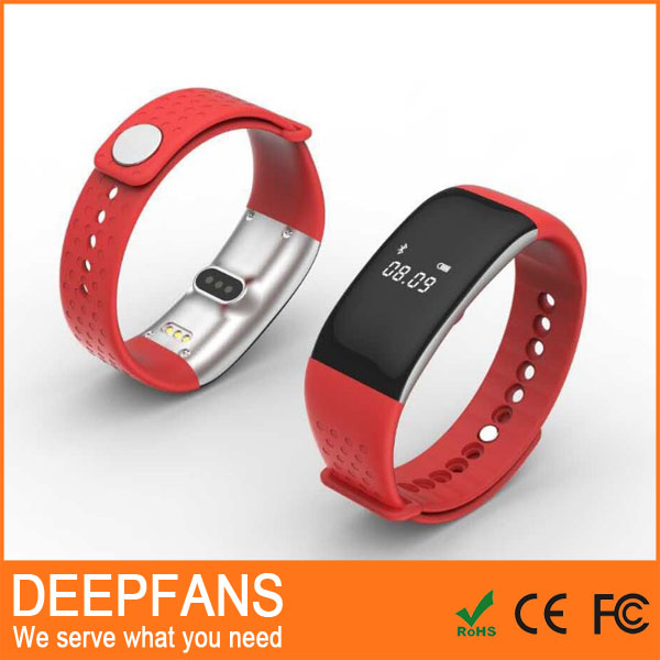 Plastic Veryfit App Smart Bracelet Ck11 Blood Pressure Oxygen Wristband Monitor Smart Wristband Sdk With Ce Certificate