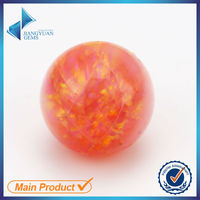china wholesale ball shape synthetic opal stone price