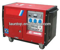 5.0KW Air-cooled 4-Stroke 5kw portable electric start gasoline generator