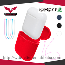 Outside Traveling Protective Carrying Case Rubber Silicone Cover Skin Sleeve for Apple Airpod Charging Case