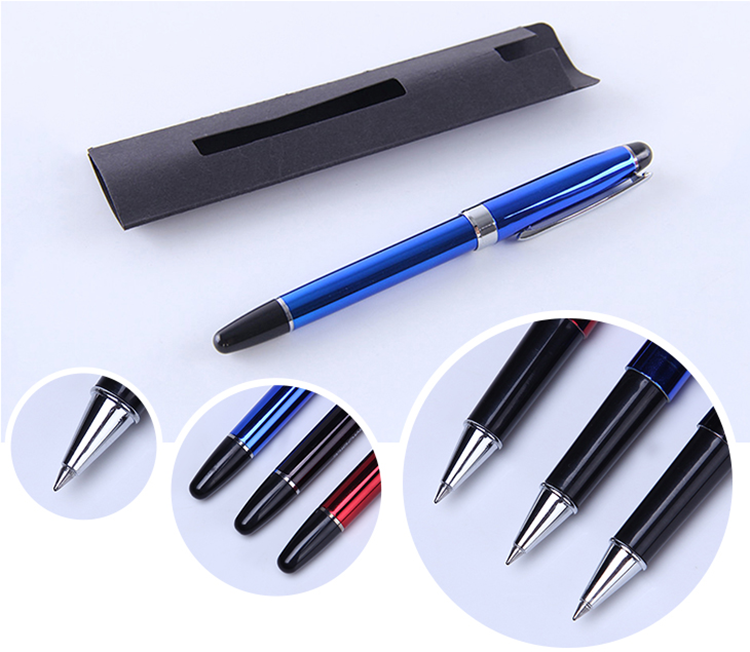 Novelty Multi Color Custom Logo Plastic UV Electroplated Bulk Luxury Business Gel Pens