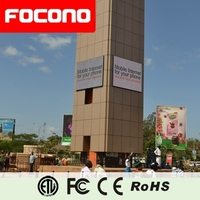Outdoor LED Video Wall LED Display Advertising Marketing Equipmen LED Screen Module P10 with 8 Years Warranty