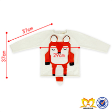 Hot Sale Long Sleeves Fox Sweater Baby Sweater Design Knitting Patterns Children Sweater
