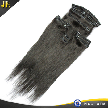 All texture available no shedding clip in hair extension