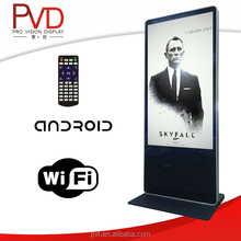 42'' ' Free standing Plug in play wifi updated FULL HD LCD Digital Signage