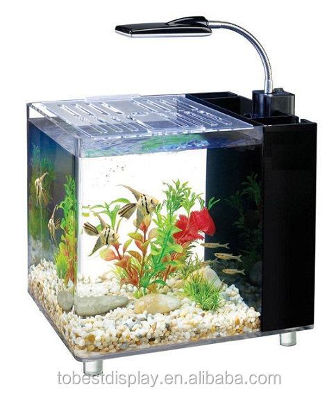 Custom Mini Desk Fish Tank,Acrylic Mini Fish Tank,Plexiglass Aquarium ...