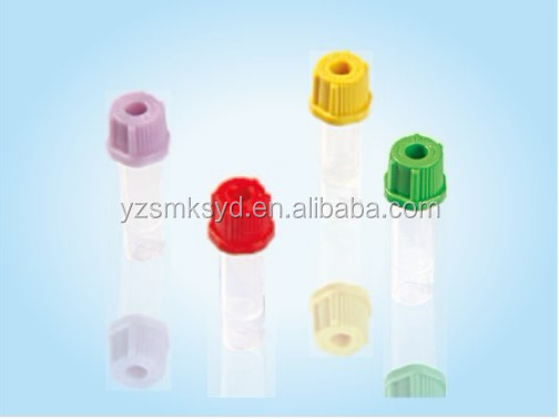 Vacuum blood collection tube disposable for hospital use