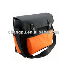 Orange durable fabric tool bags