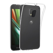 C&T Transparent TPU Soft Clear Case Back cover Protector for Motorola Moto E (3rd gen) / E3